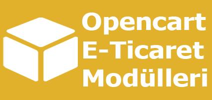 Opencart Eticaret Modülleri