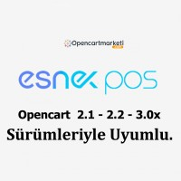 Opencart Esnekpos Modülü