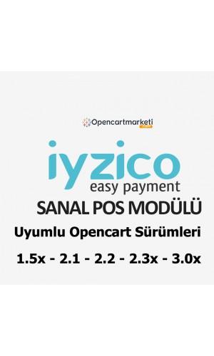 İyzico Sanal Pos Modülü (ücretsiz)