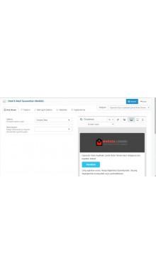 Opencart Mail Tasarım Modülü