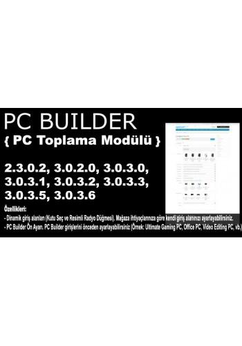 Opencart PC Toplama Modülü
