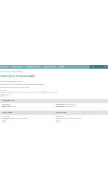 Opencart Sipariş Başarılı Sayfası