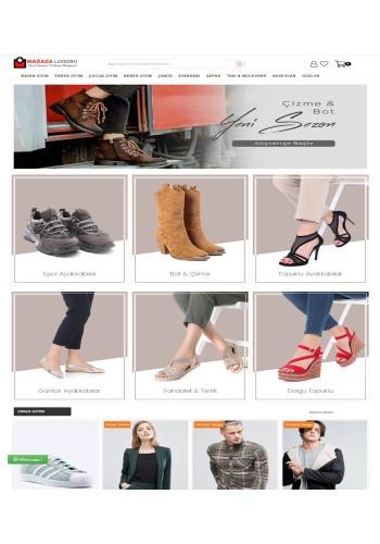 Opencart 3x Ayakkabı v2  Full Paket