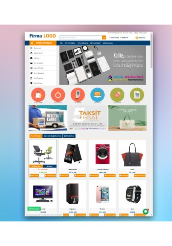 Opencart 3X Genel Marketing Tema Full Paket