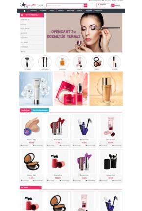 Opencart 3.x Kozmetik Parfüm Teması
