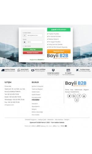 Opencart 3.x Bayii B2B Full Paket