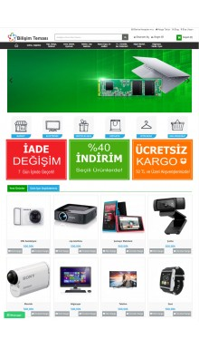 Opencart 3X Bilişim Tema Full Paket
