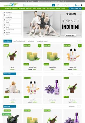 Opencart 3X Bitkisel & Yöresel Ürünler Full Paket
