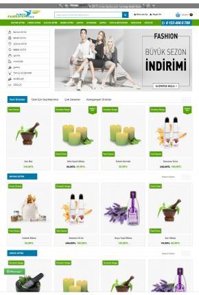 Opencart 3X Bitkisel & Yöresel Ürünler Teması