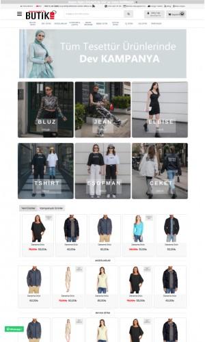 Opencart 3.x Giyim Butik Tema