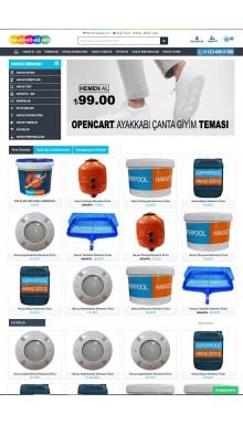 Opencart 3x Havuz Full Paket