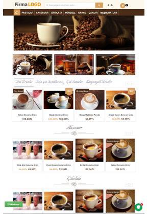 Opencart 3x Kahve Full Paket