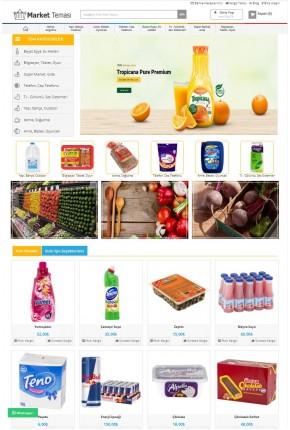 Opencart 3x Market Tema Full Paket