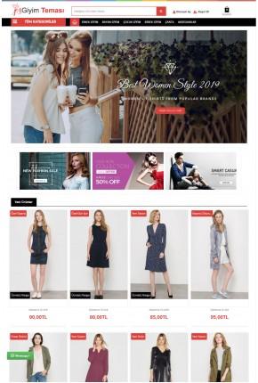 Opencart 3x Moda Giyim v2  Full Paket