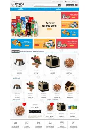 Opencart 3.x PetShop Full Paket