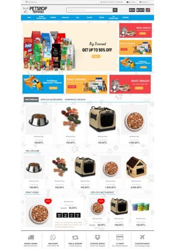 Opencart 3.x PetShop Teması