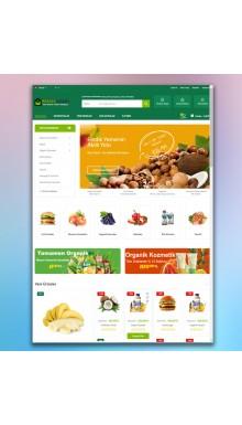 Opencart 3x Organik Ürünler Teması