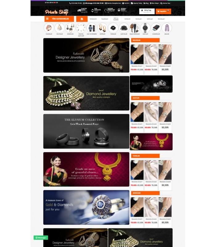 Opencart 3x Private Shop Tema Full Paket